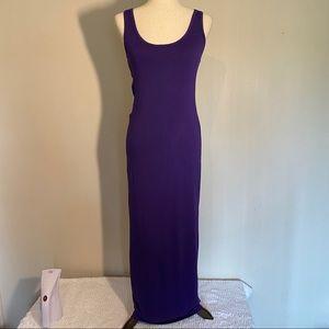 Venus Tank Top Maxi Dress with open back